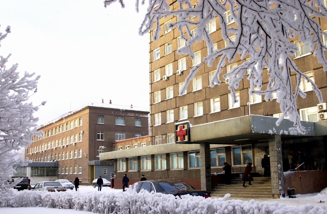Городская зеленоградская больница 3